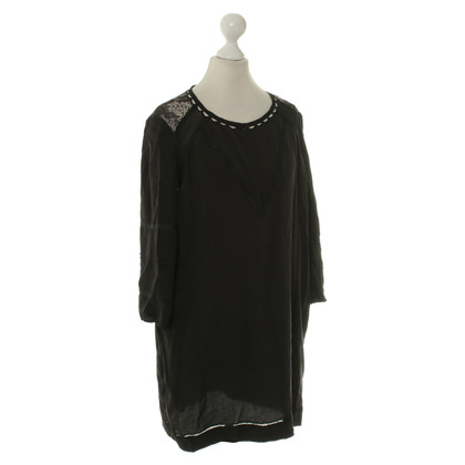 Iro Silk blouse in black