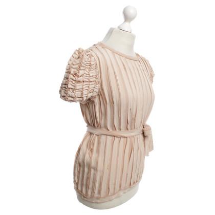 Fendi Silk Top in oudroze