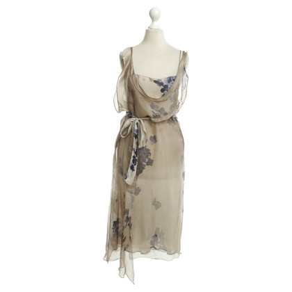 Marni Silk dress with floral pattern
