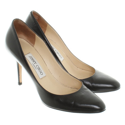 Jimmy Choo Black pumps smooth leather
