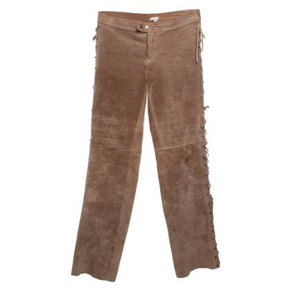 P.A.R.O.S.H. trousers suede