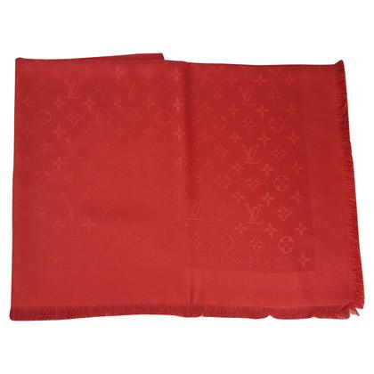 Louis Vuitton Monogram-Tuch in Rot