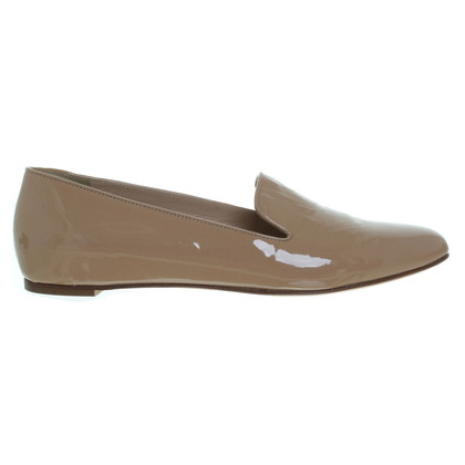 J. Crew Patent leather slipper