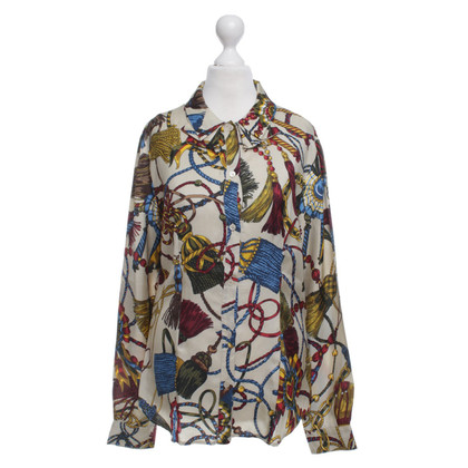 Moschino Love Blouse with colorful patterns