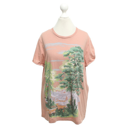 Stella McCartney T-shirt in blush pink