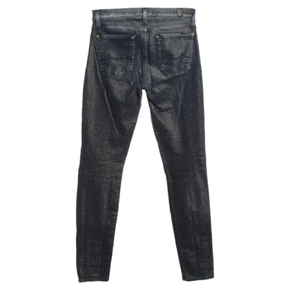 7 For All Mankind Jeans met gouddraad