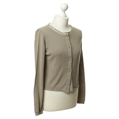 Fabiana Filippi Green/Brown cotton Cardigan