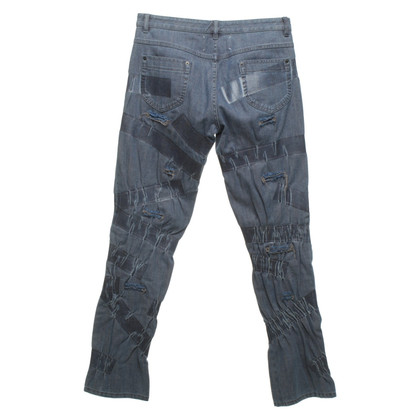 Maison Martin Margiela Jeans in destroyed look