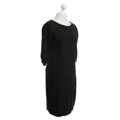 Odeeh Klassisches Kleid in Schwarz
