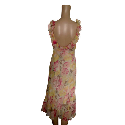 Ralph Lauren Vestito di seta variopinto