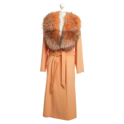 Other Designer Seastone - coat with real fur collar