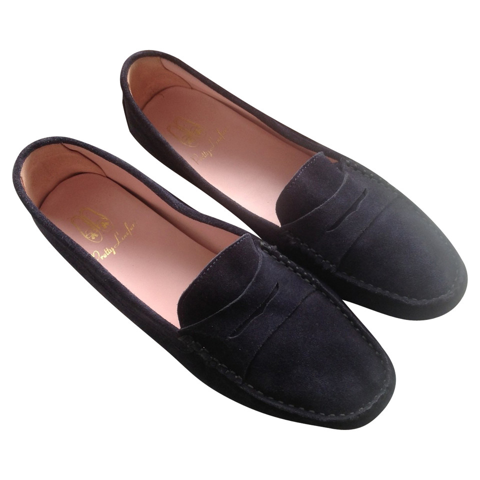 Pretty Ballerinas Lace Up Shoes