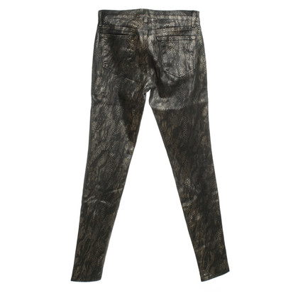 J Brand Animal print pants