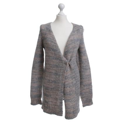 Set Knitted Cardigan grey marl