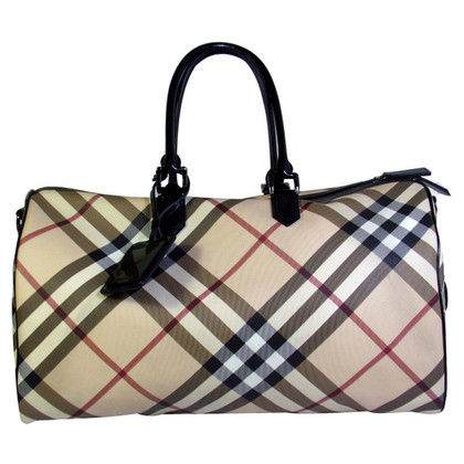 Burberry Shopper mit Nova-Check-Muster