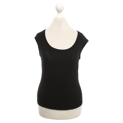Yves Saint Laurent Wool top in black