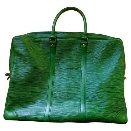 Louis Vuitton Louis Vuitton Green Leather Bag