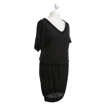 Boss Orange Gebreide jurk zwart