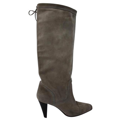 Hugo Boss Veloursleder-Stiefel
