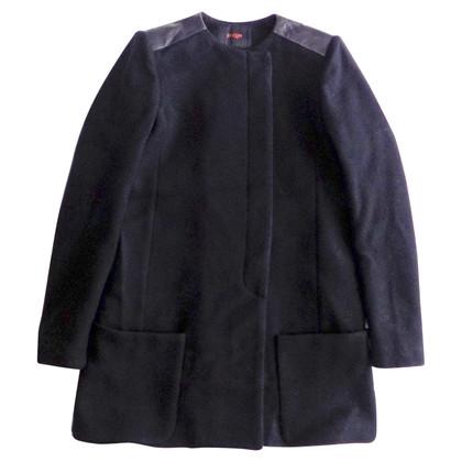 Maje Coat van wol / cashmere