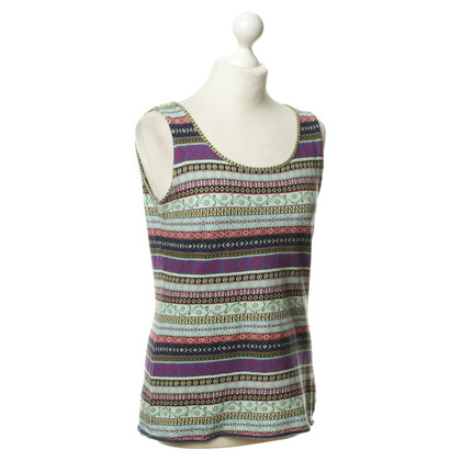 Kenzo Top with ethnic patterns