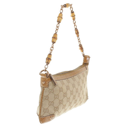 Gucci clutch made of canvas