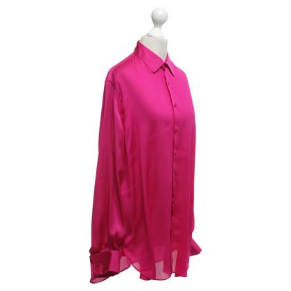 Ralph Lauren Zijden blouse in roze