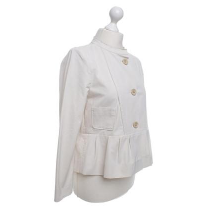 Schumacher Short jacket in light beige