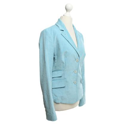 Versace Blazer en bleu clair