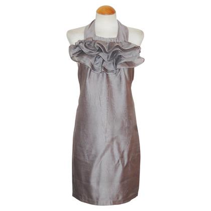Reiss Vestito grigio argento