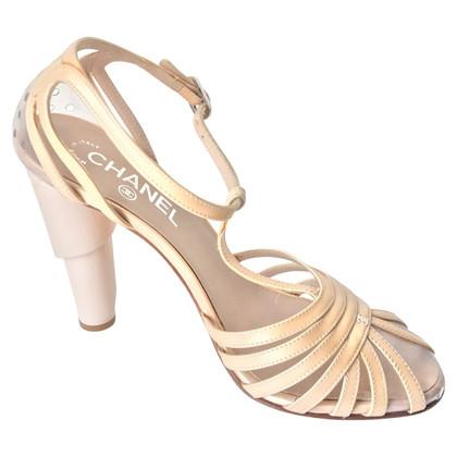 Chanel Laksleren sandalen