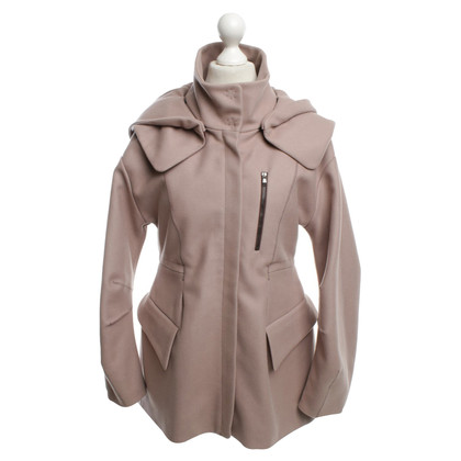 Schumacher Coat in blush pink