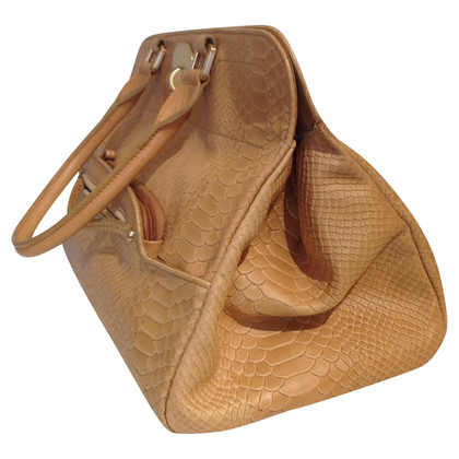 Longchamp Handbag in snakeskin look