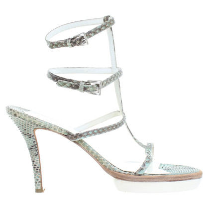 Walter Steiger Sandals made of reptile leather
