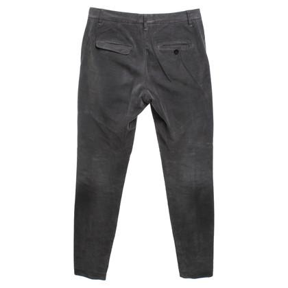 Brunello Cucinelli Pantalon en velours kaki
