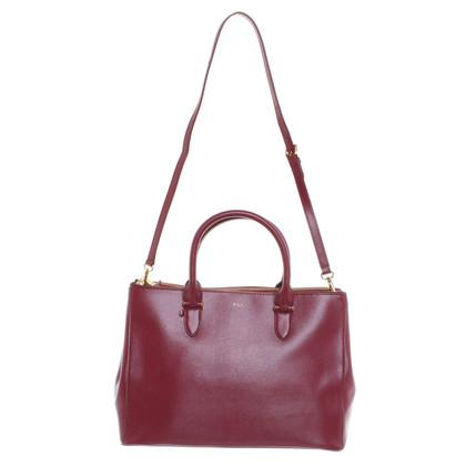 Polo Ralph Lauren Handtasche in Bordeaux