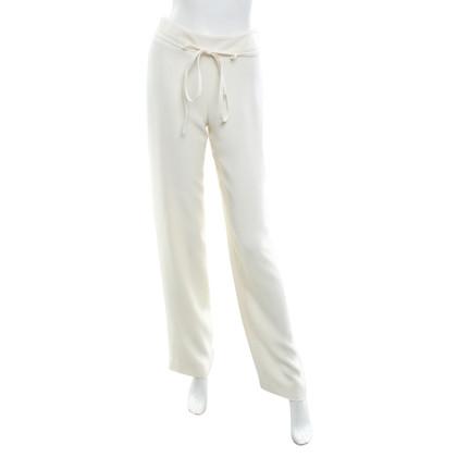 Armani Collezioni Pantaloni in bianco crema