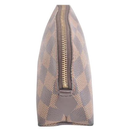 Louis Vuitton Kosmetiktasche aus Damier Ebene Canvas