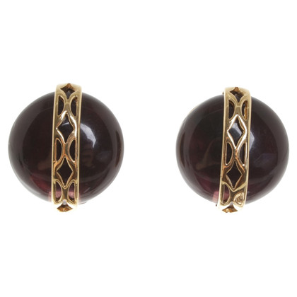 Givenchy Boucles d'oreilles clip avec des pierres précieuses