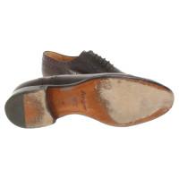 Gucci Schnürschuhe aus Leder