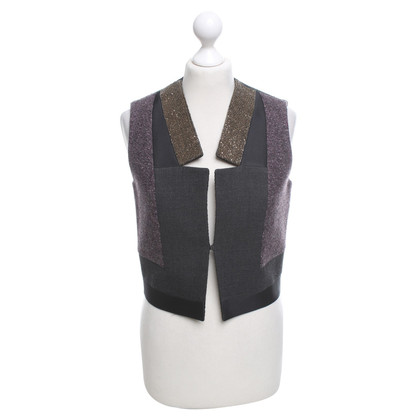 Etro Vest with beaded trim