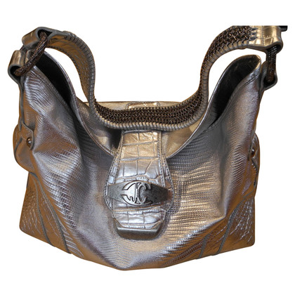 Just Cavalli Handtasche in Silber