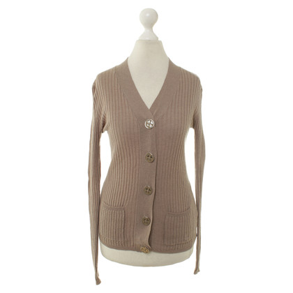 Dear Cashmere Strickjacke in Ocker