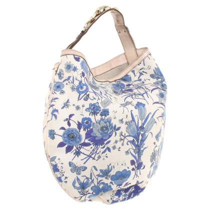 Gucci Handtasche mit Blumenmuster