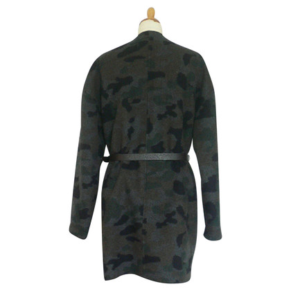 Blonde No8 Wendemantel / jacket black / camouflage