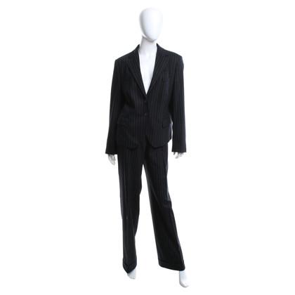René Lezard Trouser suit with pinstripe