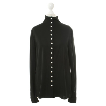 Chanel Shirt Pearl Buttons