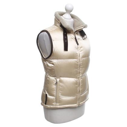 Prada Down vest in light beige
