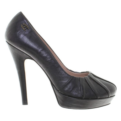 Just Cavalli Pumps in Schwarz
