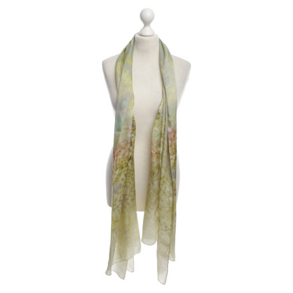 Marc Cain Scarf with flower motif